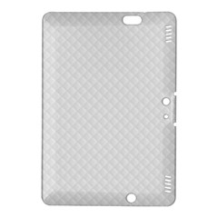 Bright White Stitched and Quilted Pattern Kindle Fire HDX 8.9  Hardshell Case