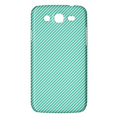 Tiffany Aqua Blue Diagonal Sailor Stripes Samsung Galaxy Mega 5 8 I9152 Hardshell Case