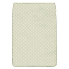 Rich Cream Stitched and Quilted Pattern Flap Covers (L)