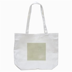 Rich Cream Stitched and Quilted Pattern Tote Bag (White)