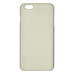Rich Cream Stitched and Quilted Pattern iPhone 6 Plus/6S Plus TPU Case