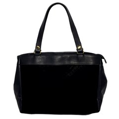 Sleek Black Stitched and Quilted Pattern Office Handbags