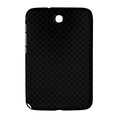 Sleek Black Stitched and Quilted Pattern Samsung Galaxy Note 8.0 N5100 Hardshell Case