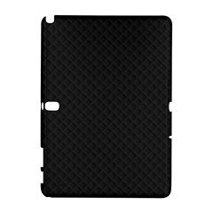 Sleek Black Stitched and Quilted Pattern Galaxy Note 1