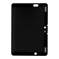 Sleek Black Stitched and Quilted Pattern Kindle Fire HDX 8.9  Hardshell Case