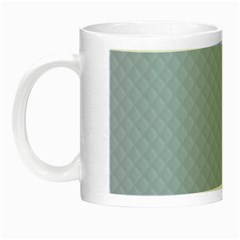 Powder Blue Stitched and Quilted Pattern Night Luminous Mugs