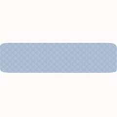 Powder Blue Stitched and Quilted Pattern Large Bar Mats