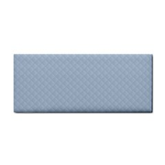 Powder Blue Stitched and Quilted Pattern Cosmetic Storage Cases