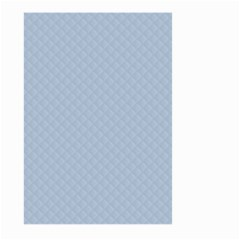 Powder Blue Stitched and Quilted Pattern Large Garden Flag (Two Sides)