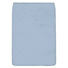 Powder Blue Stitched and Quilted Pattern Flap Covers (L)
