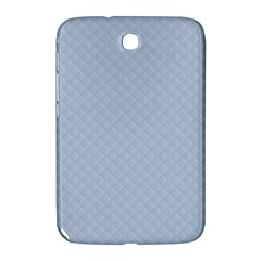 Powder Blue Stitched and Quilted Pattern Samsung Galaxy Note 8.0 N5100 Hardshell Case