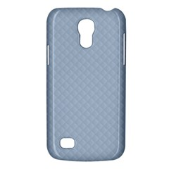 Powder Blue Stitched and Quilted Pattern Galaxy S4 Mini