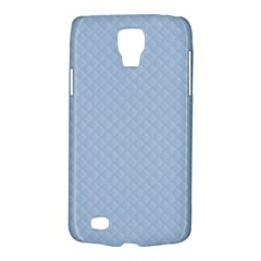 Powder Blue Stitched and Quilted Pattern Galaxy S4 Active