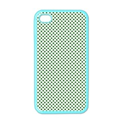 Shamrock 2-Tone Green on White St.Patrick?¯s Day Clover Apple iPhone 4 Case (Color)