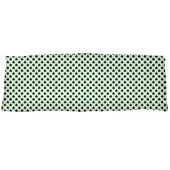 Shamrock 2-Tone Green on White St.Patrick?¯s Day Clover Body Pillow Case (Dakimakura)