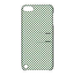 Shamrock 2-Tone Green on White St.Patrick?¯s Day Clover Apple iPod Touch 5 Hardshell Case with Stand