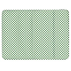 Shamrock 2-Tone Green on White St.Patrick?¯s Day Clover Samsung Galaxy Tab 7  P1000 Flip Case
