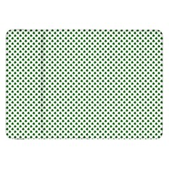 Shamrock 2-Tone Green on White St.Patrick?¯s Day Clover Samsung Galaxy Tab 8.9  P7300 Flip Case