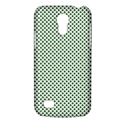 Shamrock 2-Tone Green on White St.Patrick?¯s Day Clover Galaxy S4 Mini