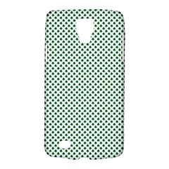 Shamrock 2-Tone Green on White St.Patrick?¯s Day Clover Galaxy S4 Active