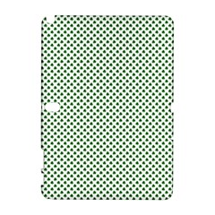Shamrock 2-Tone Green on White St.Patrick?¯s Day Clover Galaxy Note 1