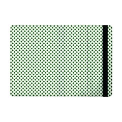 Shamrock 2-Tone Green on White St.Patrick?¯s Day Clover iPad Mini 2 Flip Cases