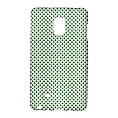 Shamrock 2-Tone Green on White St.Patrick?¯s Day Clover Galaxy Note Edge