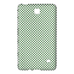 Shamrock 2-Tone Green on White St.Patrick?¯s Day Clover Samsung Galaxy Tab 4 (7 ) Hardshell Case