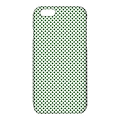 Shamrock 2-Tone Green on White St.Patrick?¯s Day Clover iPhone 6/6S TPU Case