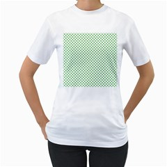 46293021 Women s T-Shirt (White) (Two Sided)