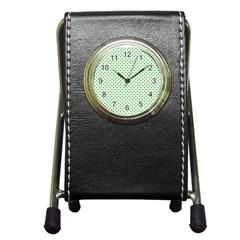 46293021 Pen Holder Desk Clocks