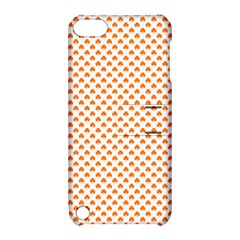 Orange Heart-Shaped Clover on White St. Patrick s Day Apple iPod Touch 5 Hardshell Case with Stand