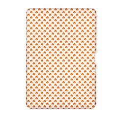 Orange Heart-Shaped Clover on White St. Patrick s Day Samsung Galaxy Tab 2 (10.1 ) P5100 Hardshell Case