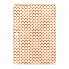 Orange Heart-Shaped Clover on White St. Patrick s Day Samsung Galaxy Tab Pro 12.2 Hardshell Case