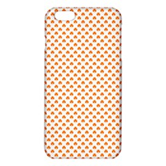 Orange Heart-Shaped Clover on White St. Patrick s Day iPhone 6 Plus/6S Plus TPU Case