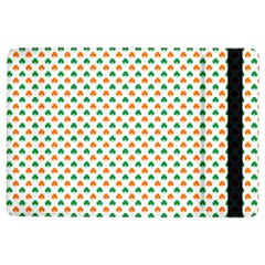 Orange And Green Heart-Shaped Shamrocks On White St. Patrick s Day iPad Air 2 Flip