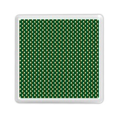 Irish Flag Green White Orange on Green St. Patrick s Day Ireland Memory Card Reader (Square)