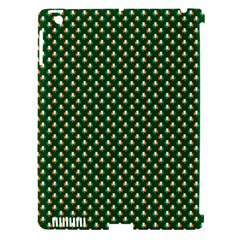 Irish Flag Green White Orange on Green St. Patrick s Day Ireland Apple iPad 3/4 Hardshell Case (Compatible with Smart Cover)