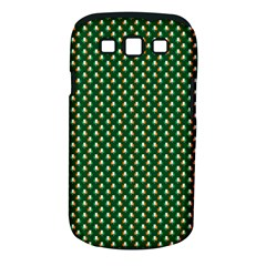 Irish Flag Green White Orange on Green St. Patrick s Day Ireland Samsung Galaxy S III Classic Hardshell Case (PC+Silicone)