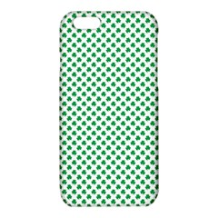 Green Shamrock Clover on White St. Patrick s Day iPhone 6/6S TPU Case