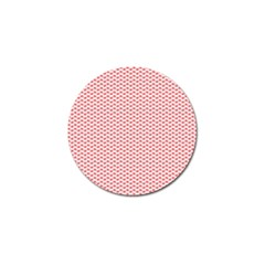 Lipstick Red Kisses Lipstick Kisses Golf Ball Marker (4 pack)