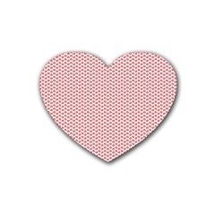 Lipstick Red Kisses Lipstick Kisses Heart Coaster (4 pack)