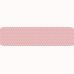 Lipstick Red Kisses Lipstick Kisses Large Bar Mats