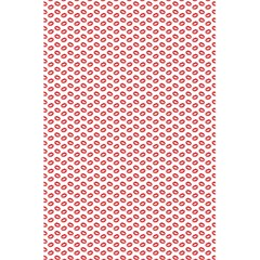 Lipstick Red Kisses Lipstick Kisses 5.5  x 8.5  Notebooks