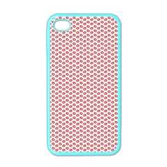 Lipstick Red Kisses Lipstick Kisses Apple iPhone 4 Case (Color)