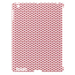 Lipstick Red Kisses Lipstick Kisses Apple iPad 3/4 Hardshell Case (Compatible with Smart Cover)