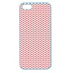 Lipstick Red Kisses Lipstick Kisses Apple Seamless iPhone 5 Case (Color)