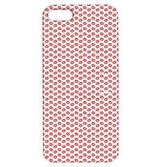 Lipstick Red Kisses Lipstick Kisses Apple iPhone 5 Hardshell Case with Stand