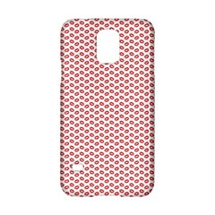 Lipstick Red Kisses Lipstick Kisses Samsung Galaxy S5 Hardshell Case