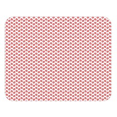 Lipstick Red Kisses Lipstick Kisses Double Sided Flano Blanket (Large)